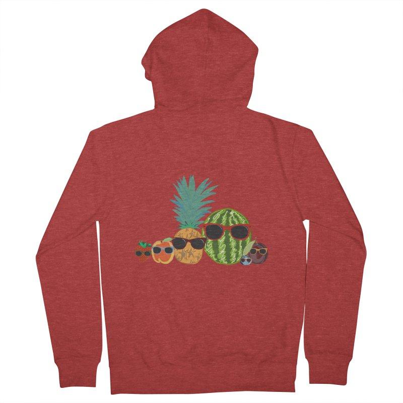 Fruit Party Men's Zip-Up Hoody by LLUMA Design