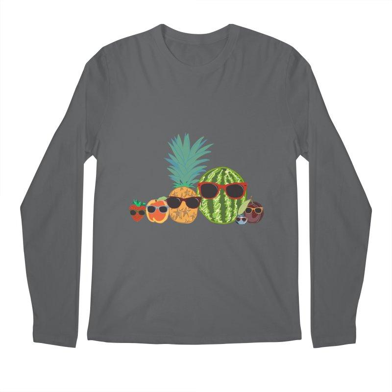 Fruit Party Men's Longsleeve T-Shirt by LLUMA Design