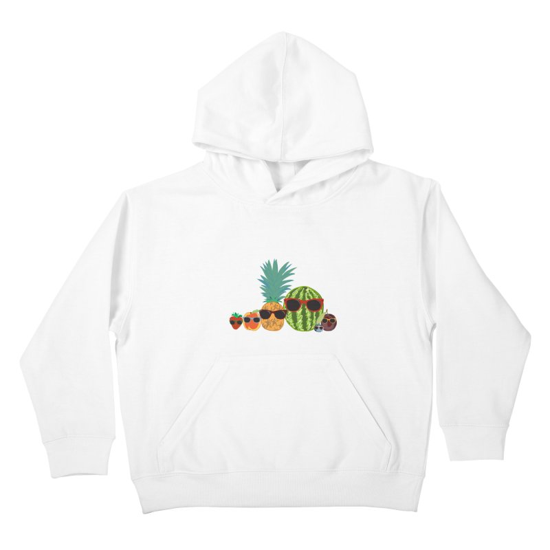Fruit Party Kids Pullover Hoody by LLUMA Design
