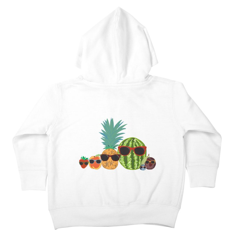 Fruit Party Kids Toddler Zip-Up Hoody by LLUMA Design