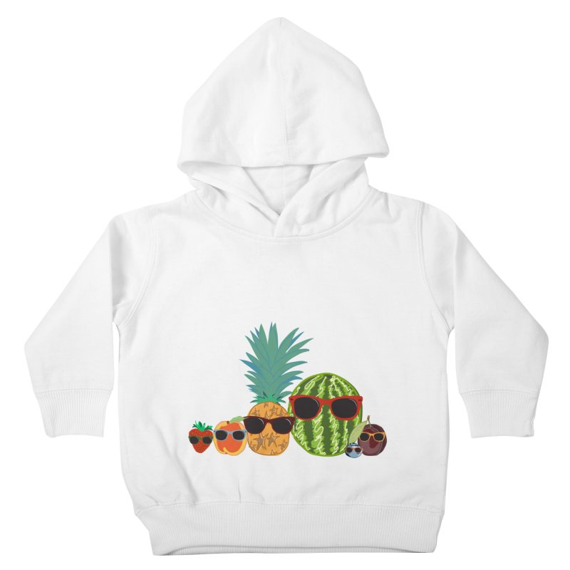 Fruit Party Kids Toddler Pullover Hoody by LLUMA Design