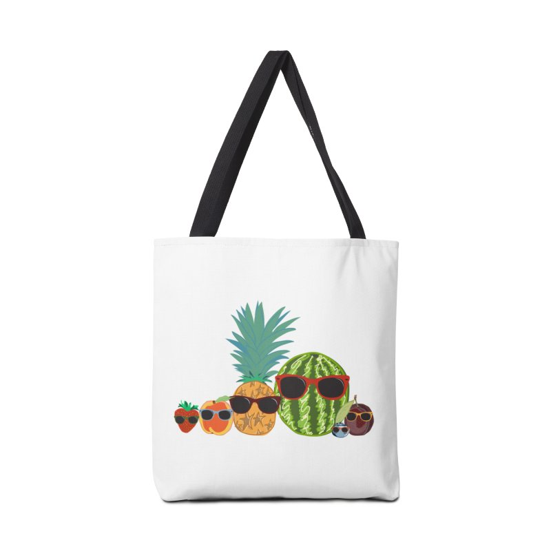 Fruit Party Accessories Bag by LLUMA Design