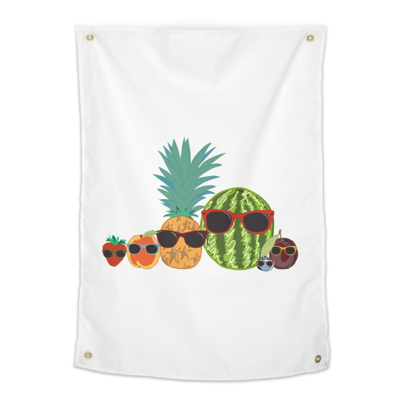 Fruit Party Home Tapestry by LLUMA Design