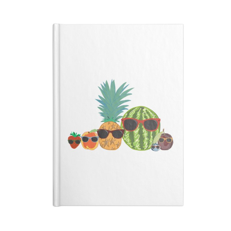 Fruit Party Accessories Notebook by LLUMA Design