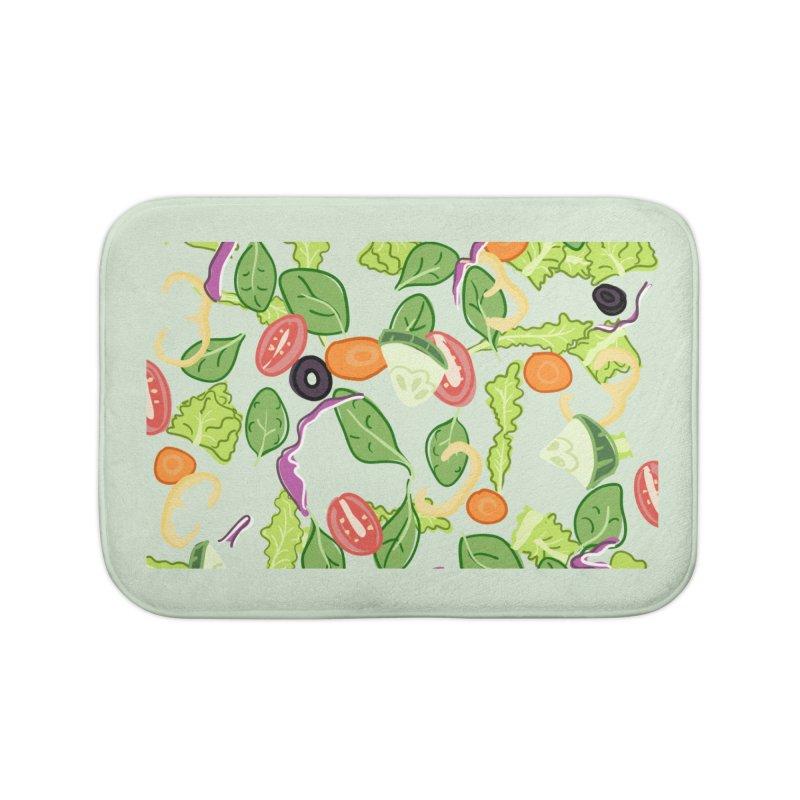 Tossed Salad Home Bath Mat by LLUMA Design