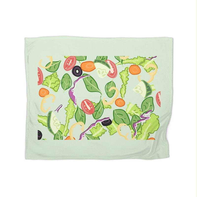 Tossed Salad Home Blanket by LLUMA Design