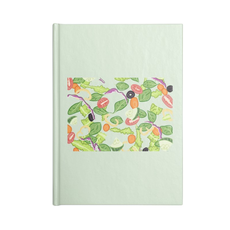 Tossed Salad Accessories Notebook by LLUMA Design
