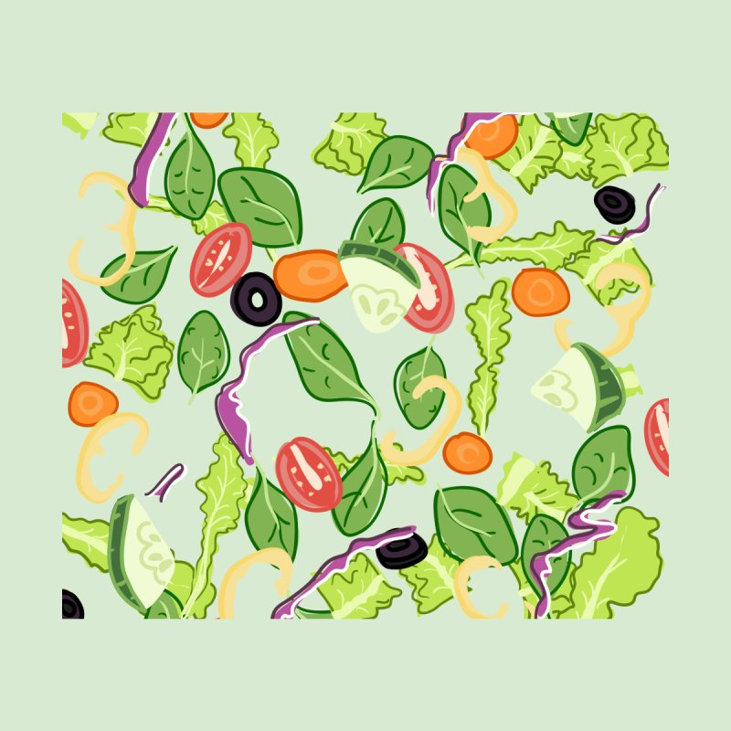 Tossed Salad None  by LLUMA Design