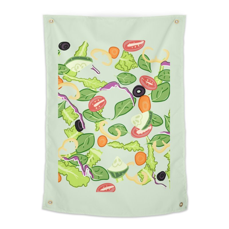 Tossed Salad Home Tapestry by LLUMA Design