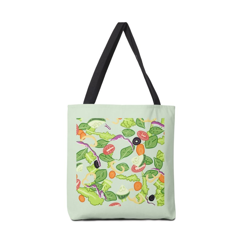 Tossed Salad Accessories Bag by LLUMA Design