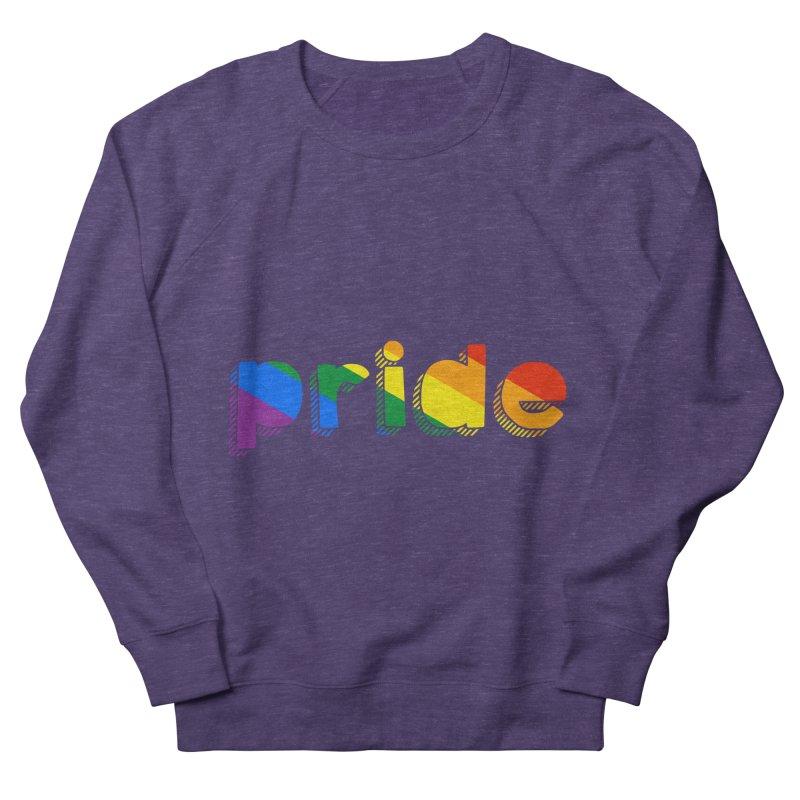 PRIDE Men's Sweatshirt by LLUMA Design