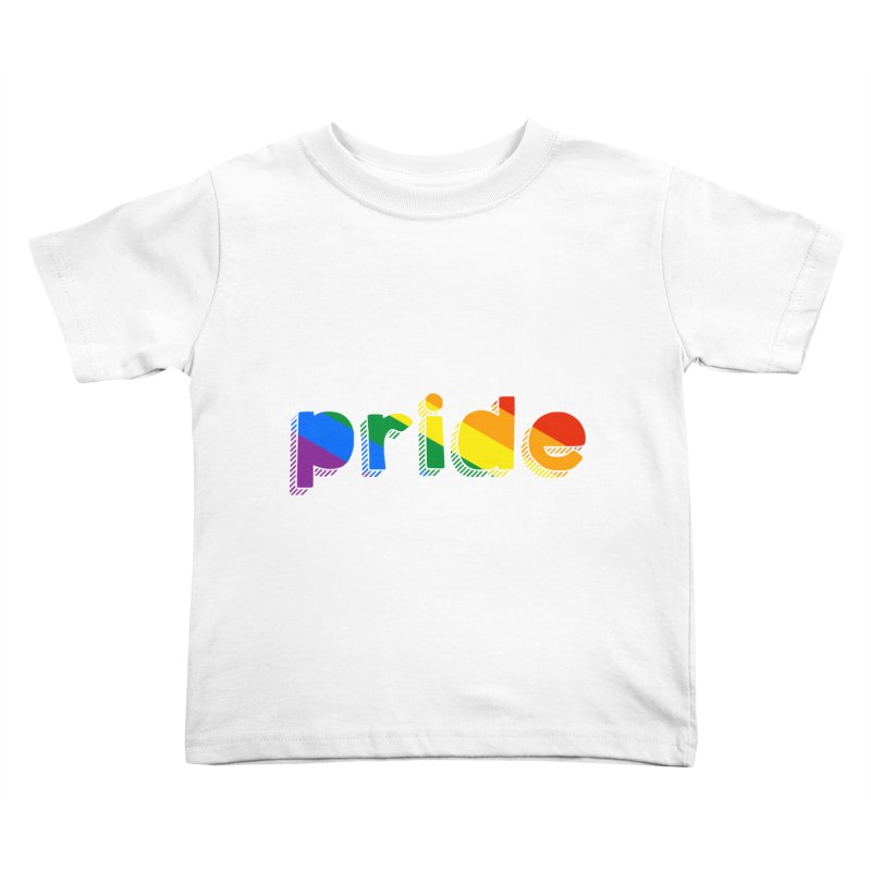PRIDE Kids Toddler T-Shirt by LLUMA Design