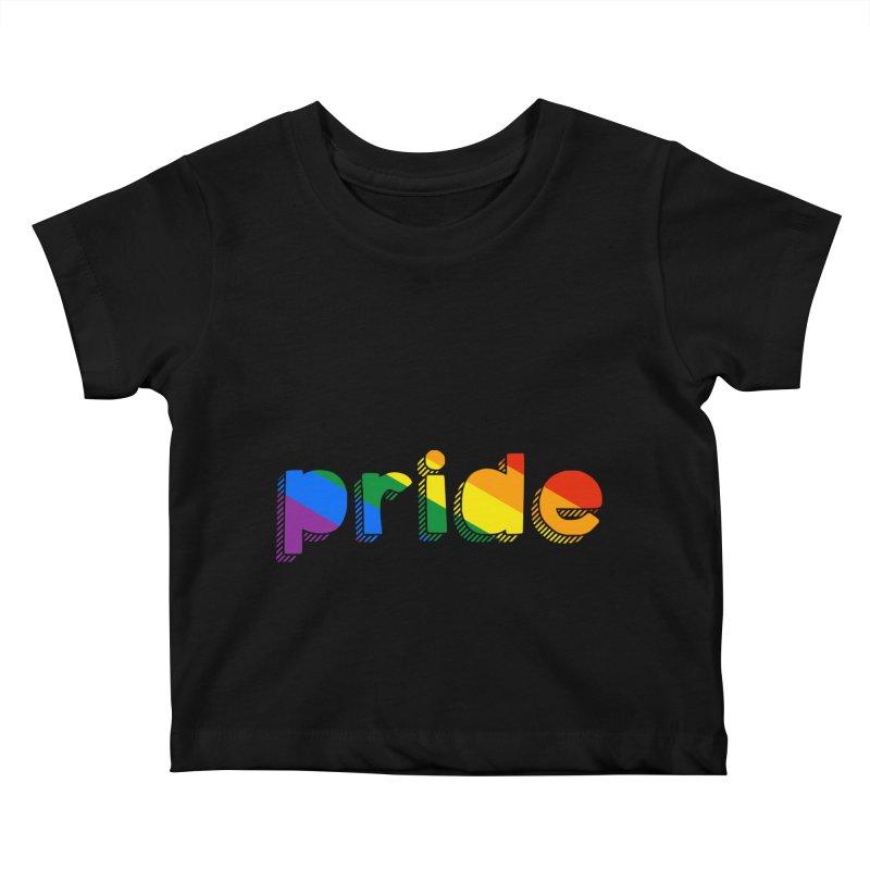 PRIDE Kids Baby T-Shirt by LLUMA Design