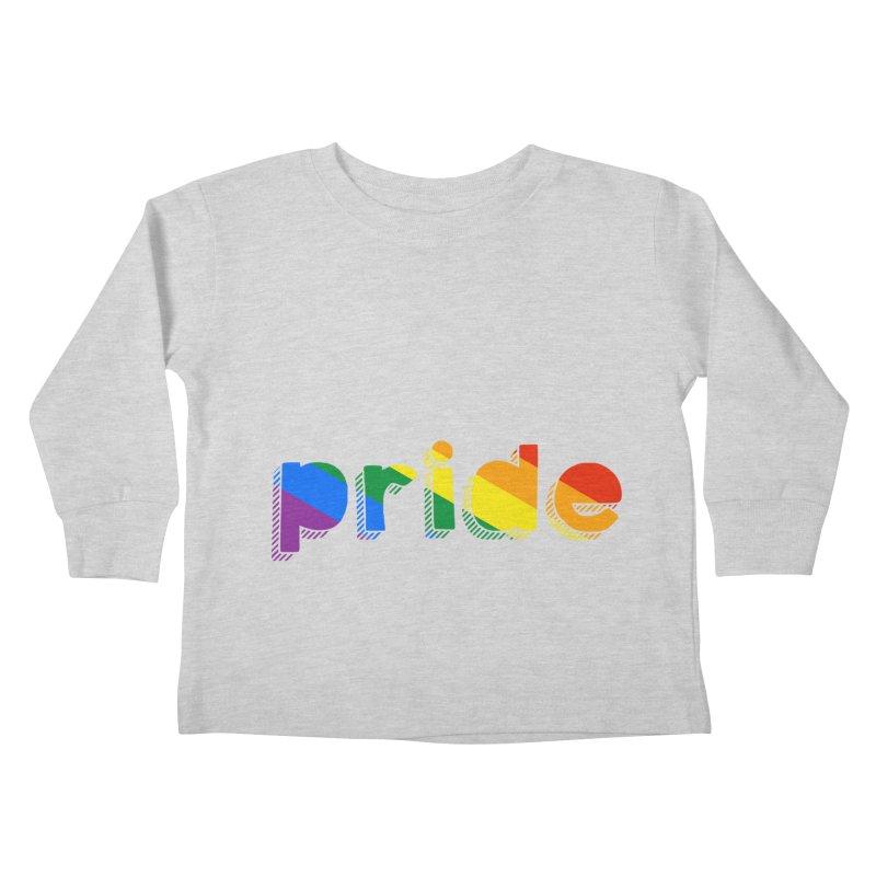 PRIDE Kids Toddler Longsleeve T-Shirt by LLUMA Design