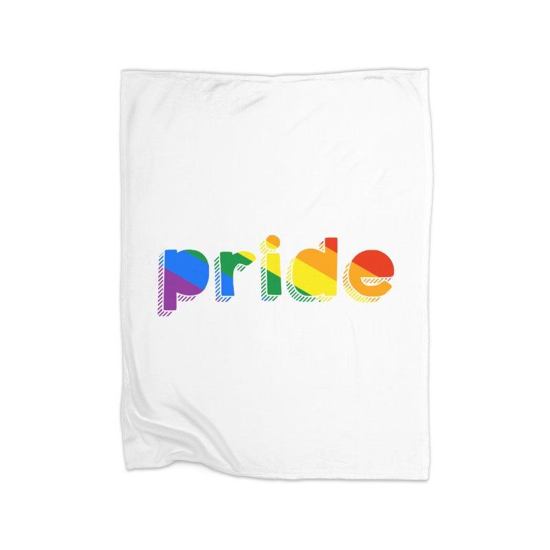 PRIDE Home Blanket by LLUMA Design