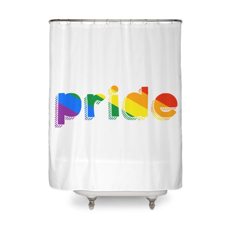 PRIDE Home Shower Curtain by LLUMA Design