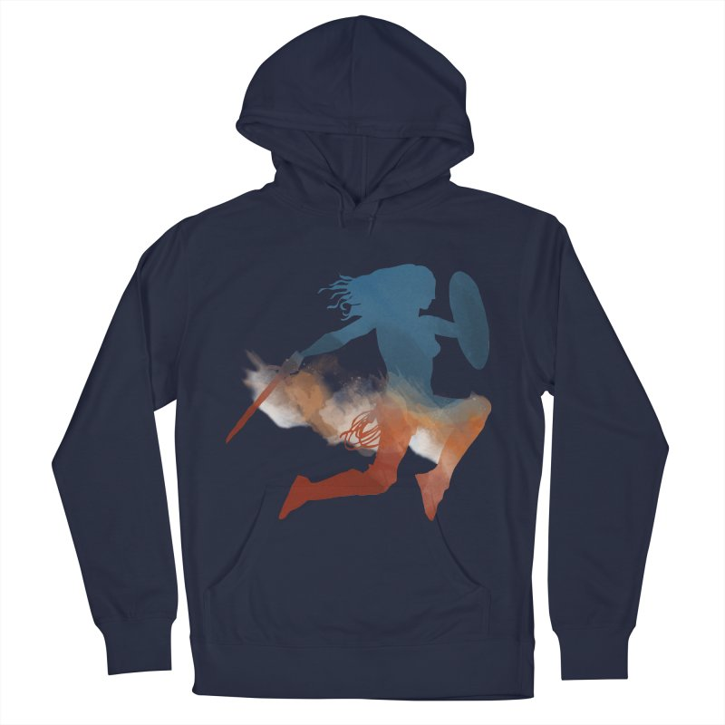Wonder Woman Women's Pullover Hoody by LLUMA Design