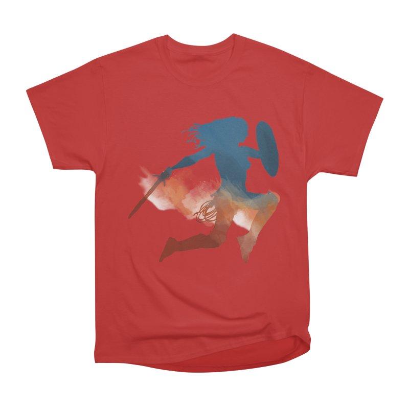 Wonder Woman Men's Classic T-Shirt by LLUMA Design