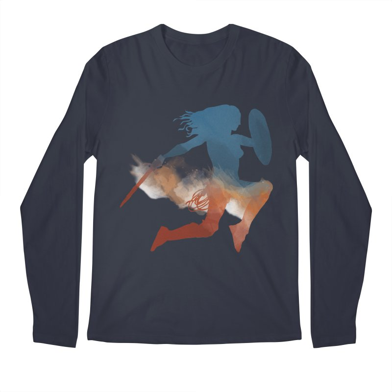 Wonder Woman Men's Longsleeve T-Shirt by LLUMA Design