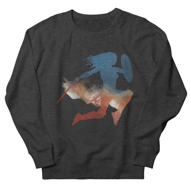 Wonder Woman Men's Sweatshirt by LLUMA Design