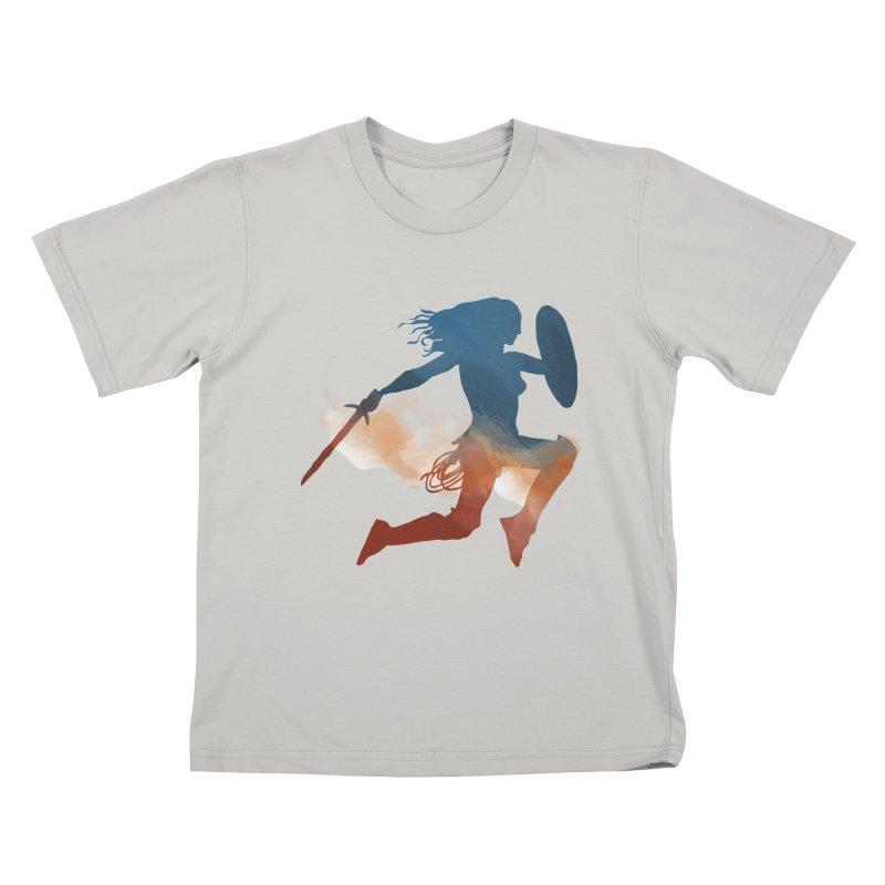 Wonder Woman Kids T-shirt by LLUMA Design