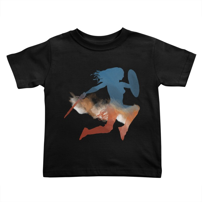 Wonder Woman Kids Toddler T-Shirt by LLUMA Design