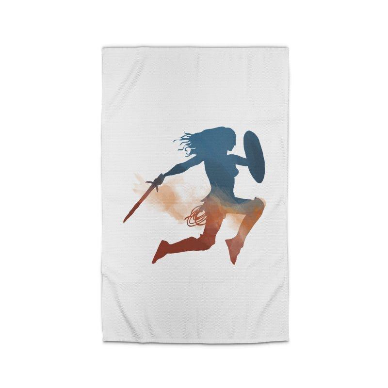 Wonder Woman Home Rug by LLUMA Design