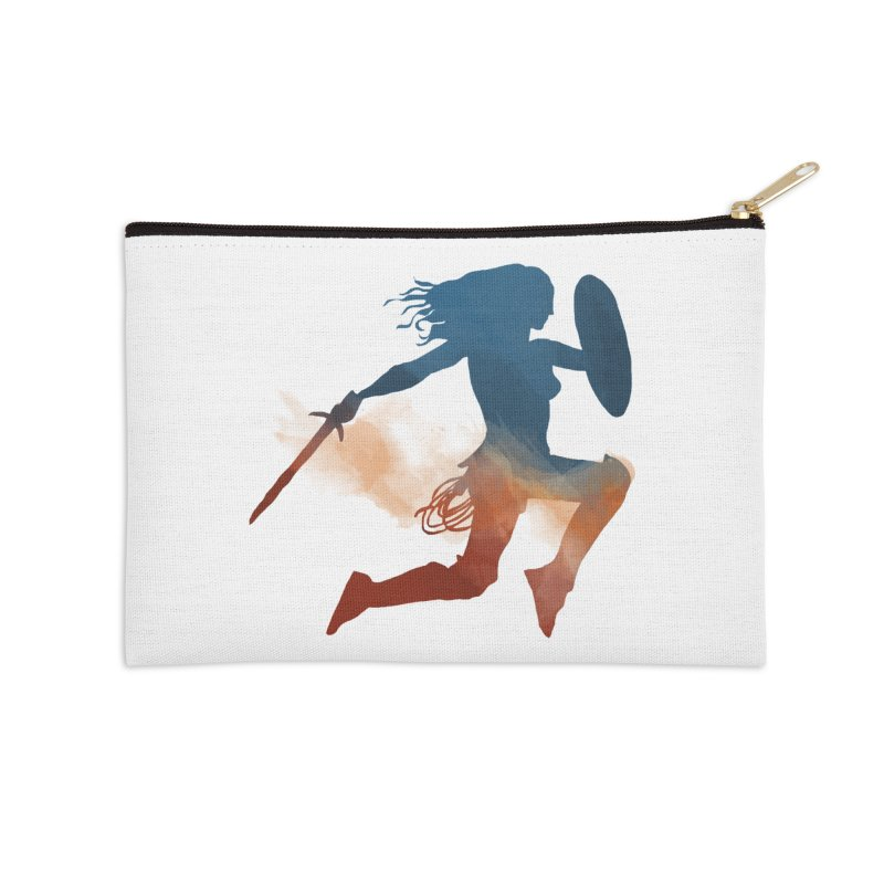 Wonder Woman Accessories Zip Pouch by LLUMA Design