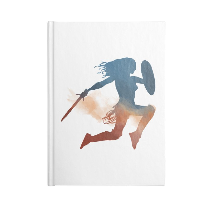 Wonder Woman Accessories Notebook by LLUMA Design