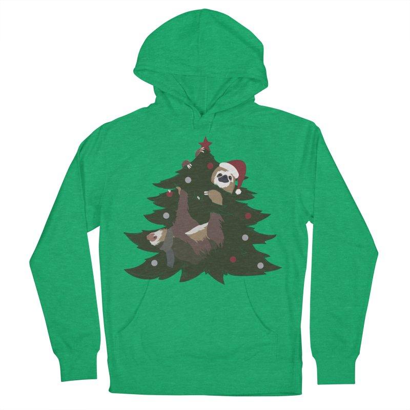 Merry Slothmas Women's Pullover Hoody by LLUMA Design