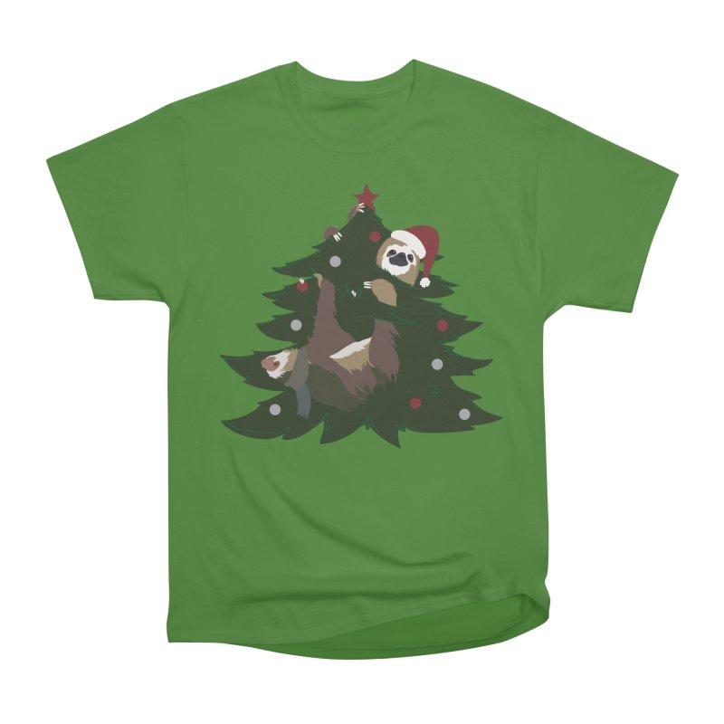 Merry Slothmas Men's Classic T-Shirt by LLUMA Design