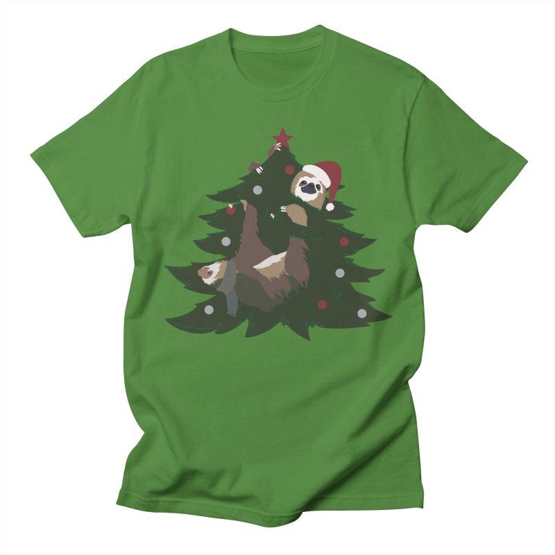Merry Slothmas Women's Unisex T-Shirt by LLUMA Design
