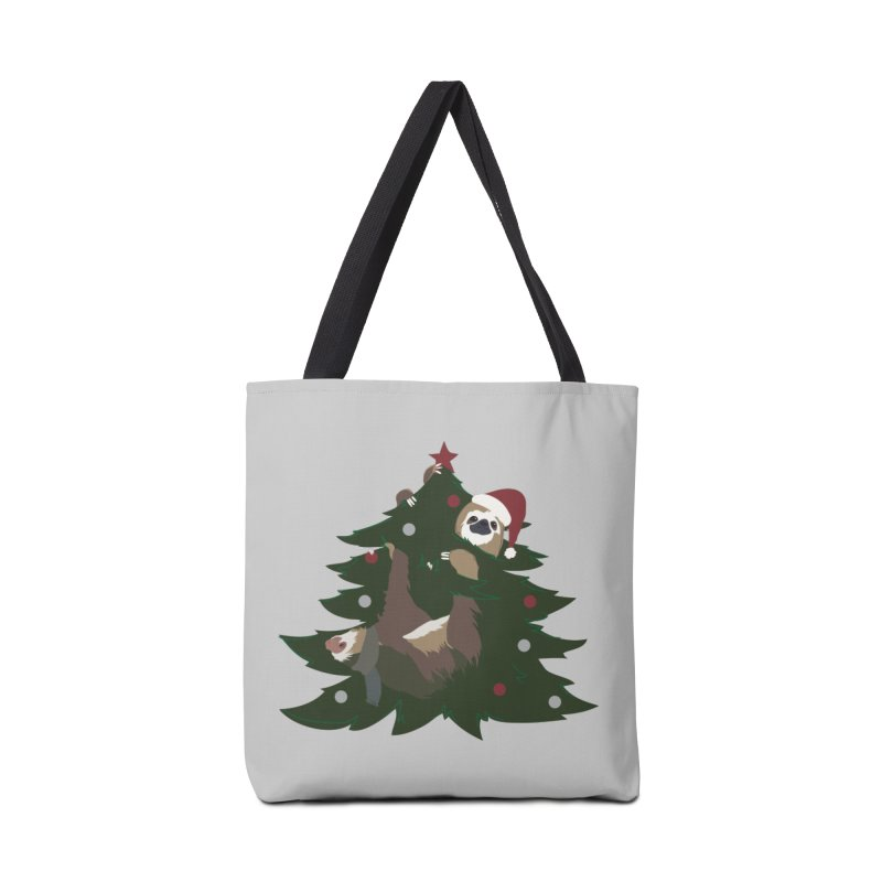 Merry Slothmas Accessories Bag by LLUMA Design