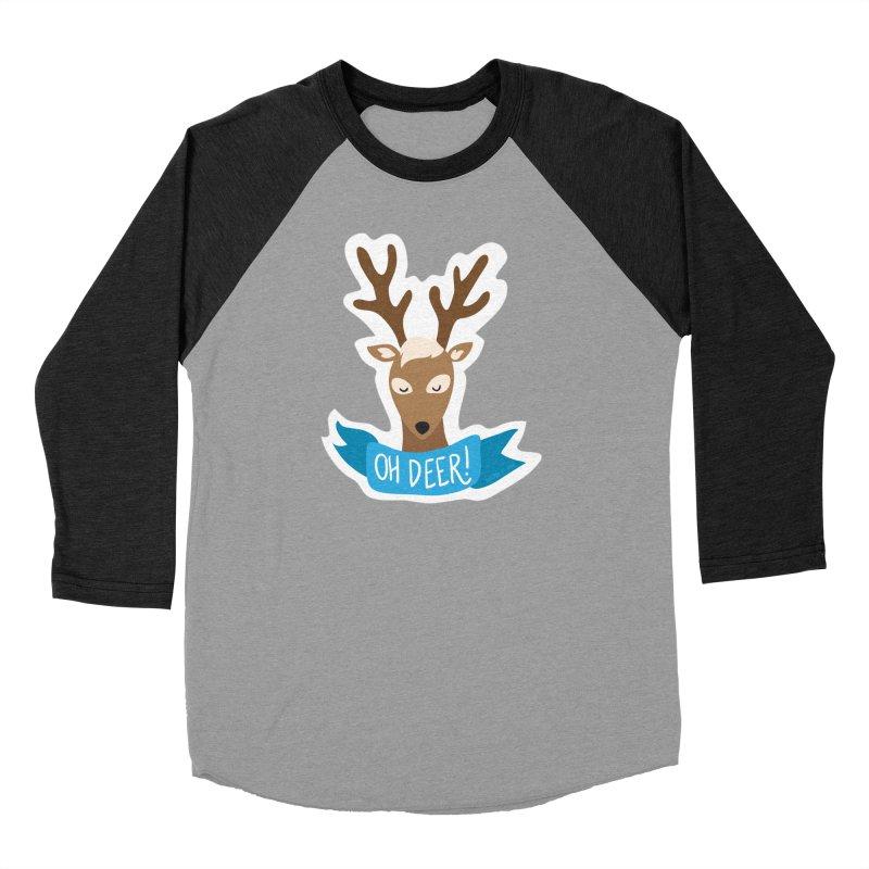 Oh Deer! - Sticker Shirt Men's Longsleeve T-Shirt by LLUMA Creative Design