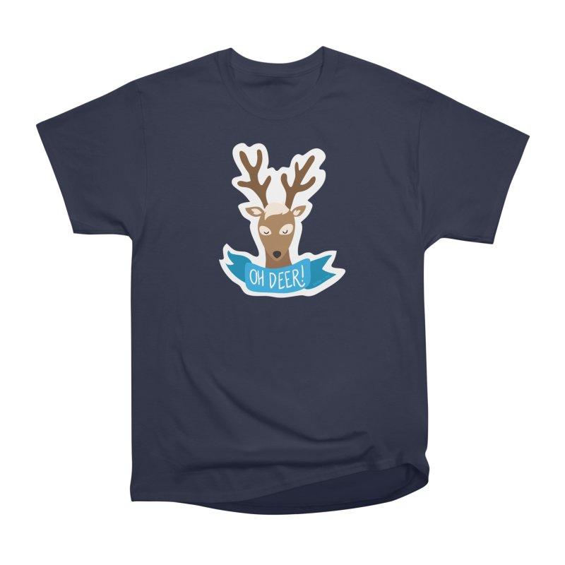 Oh Deer! - Sticker Shirt Women's Classic Unisex T-Shirt by LLUMA Creative Design