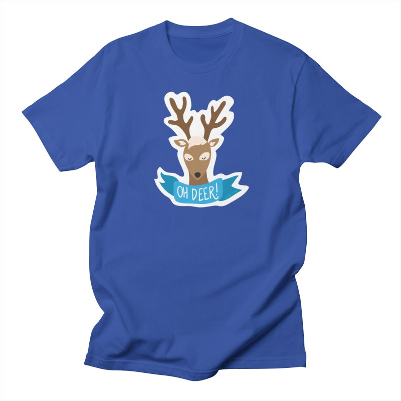 Oh Deer! - Sticker Shirt Men's Regular T-Shirt by LLUMA Creative Design