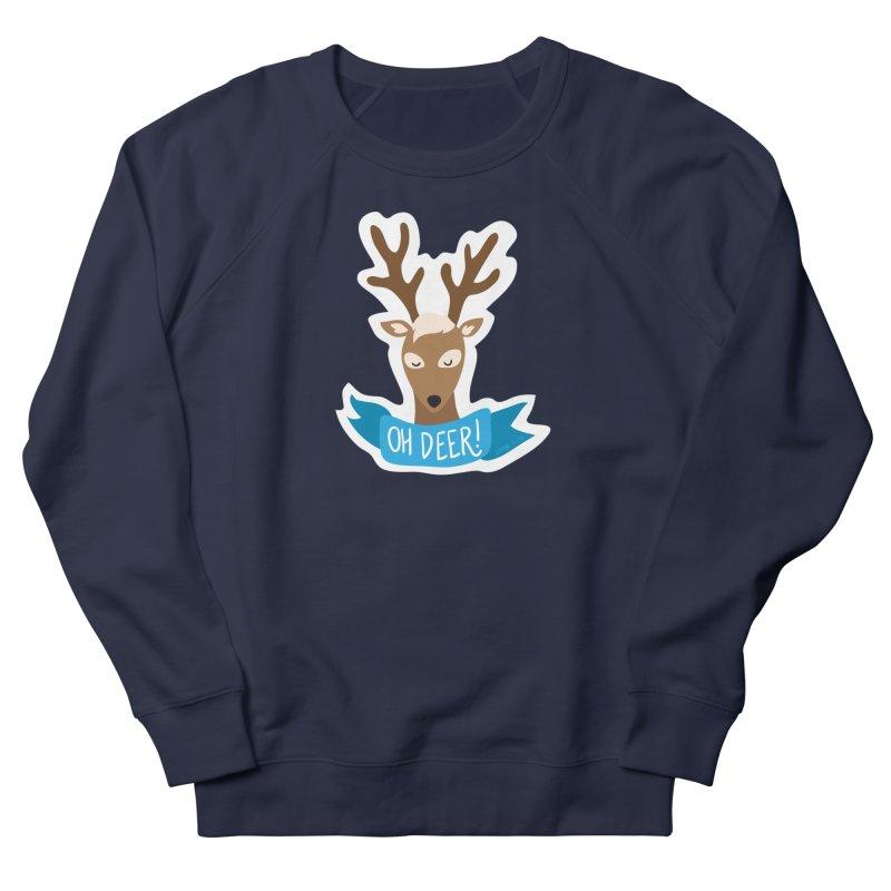 Oh Deer! - Sticker Shirt Women's Sweatshirt by LLUMA Creative Design