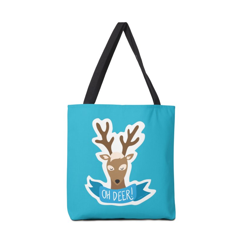 Oh Deer! - Sticker Shirt Accessories Tote Bag Bag by LLUMA Creative Design