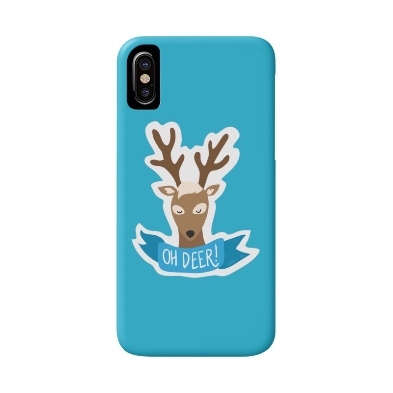 Oh Deer! - Sticker Shirt Accessories Phone Case by LLUMA Creative Design