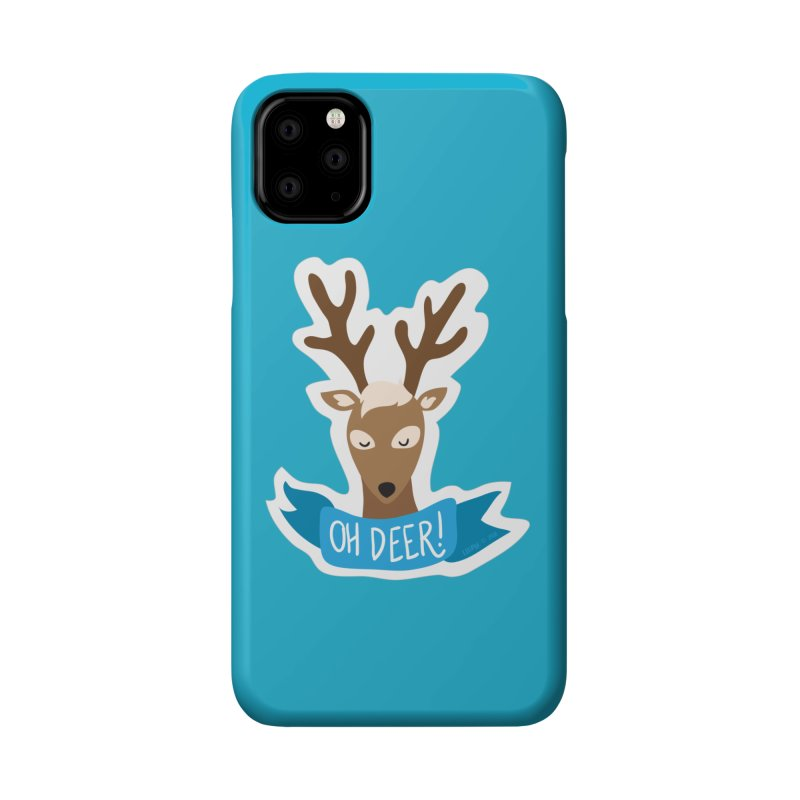 Oh Deer! - Sticker Shirt Accessories Phone Case by LLUMA Creative Design