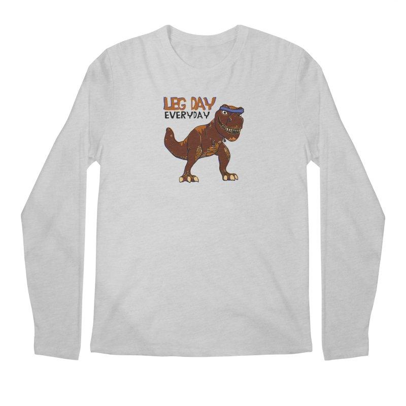 Leg Day Everyday Men's Longsleeve T-Shirt by LLUMA Creative Design