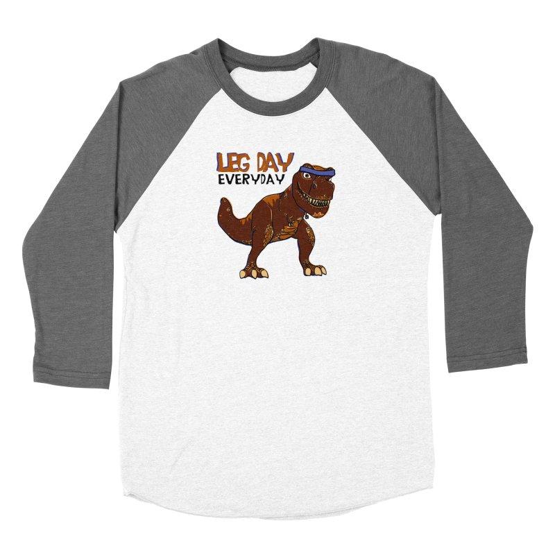 Leg Day Everyday Women's Baseball Triblend T-Shirt by LLUMA Creative Design