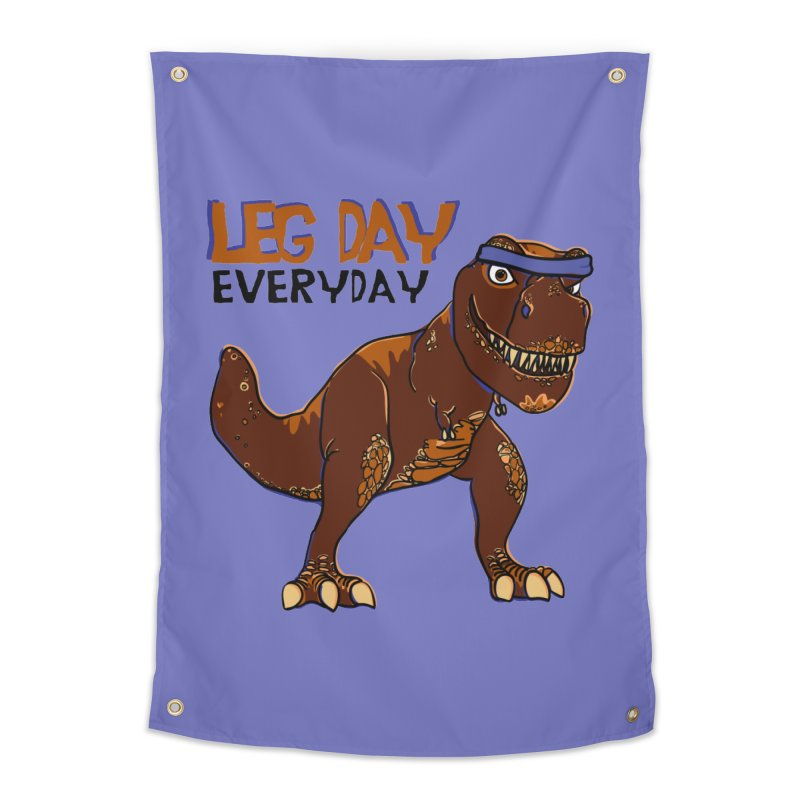 Leg Day Everyday Home Tapestry by LLUMA Creative Design