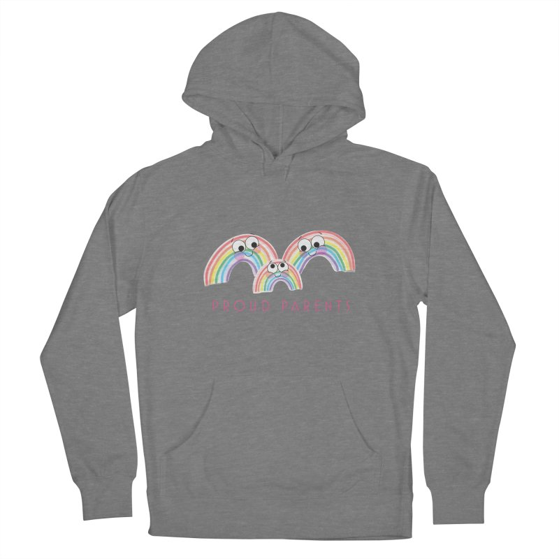 Proud Parents Men's French Terry Pullover Hoody by LLUMA Creative Design