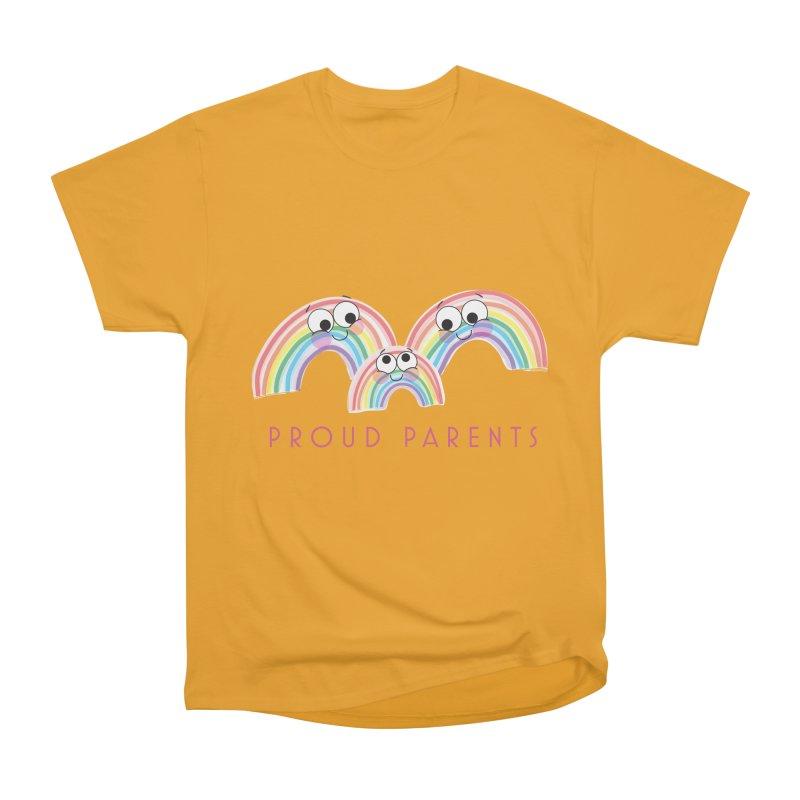 Proud Parents Men's Heavyweight T-Shirt by LLUMA Creative Design