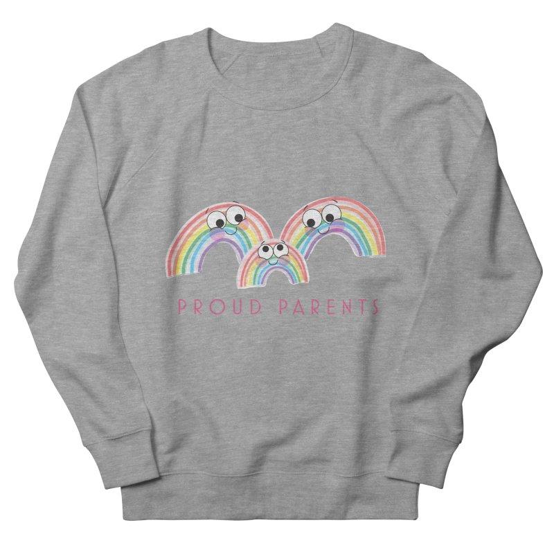 Proud Parents Men's Sweatshirt by LLUMA Creative Design