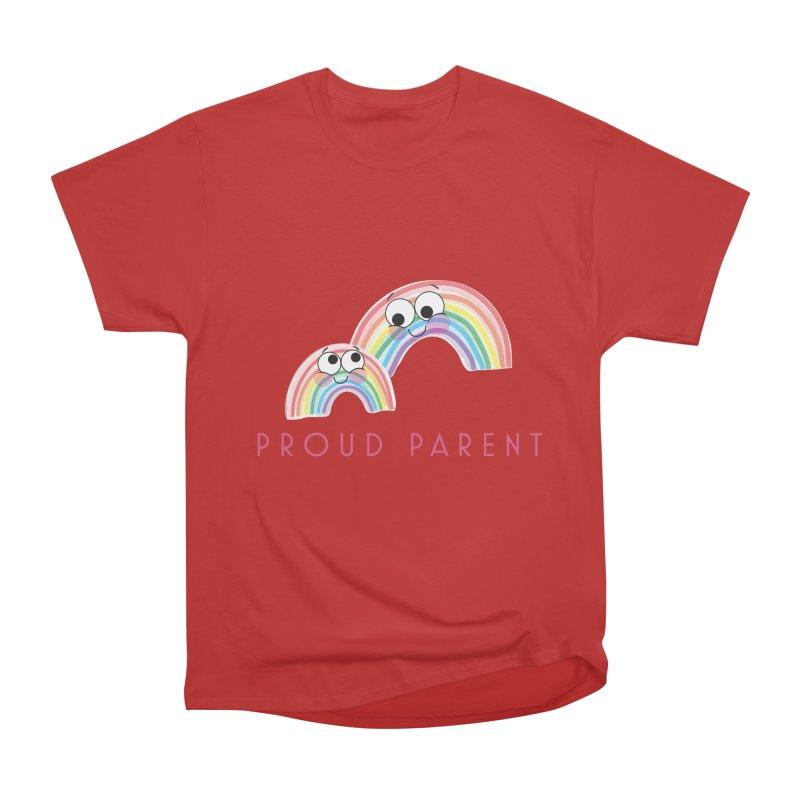 Proud Parent Women's Heavyweight Unisex T-Shirt by LLUMA Creative Design