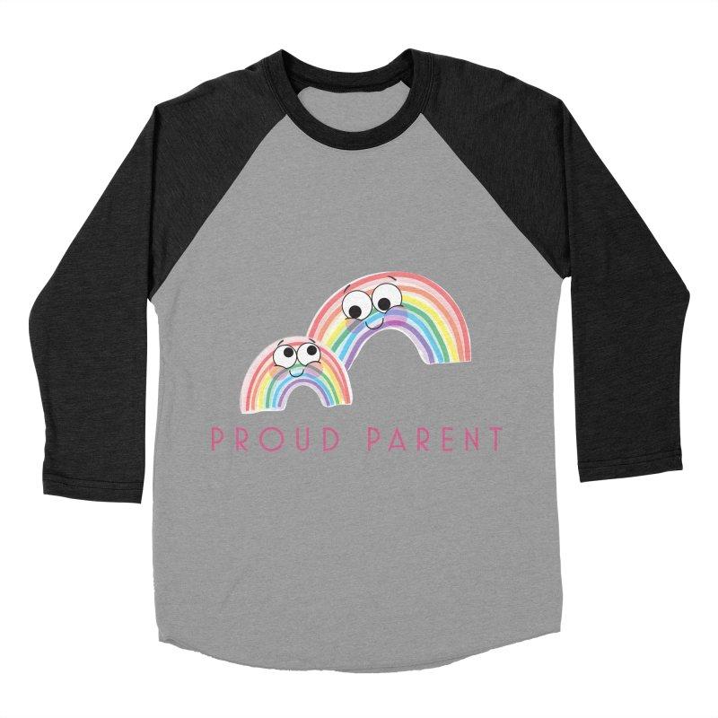 Proud Parent Women's Baseball Triblend T-Shirt by LLUMA Creative Design