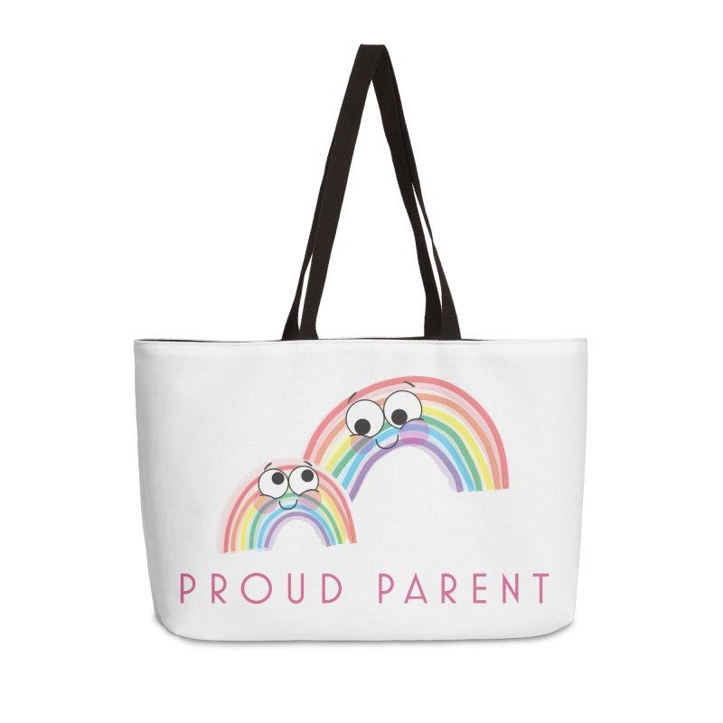 Proud Parent Accessories Weekender Bag Bag by LLUMA Creative Design