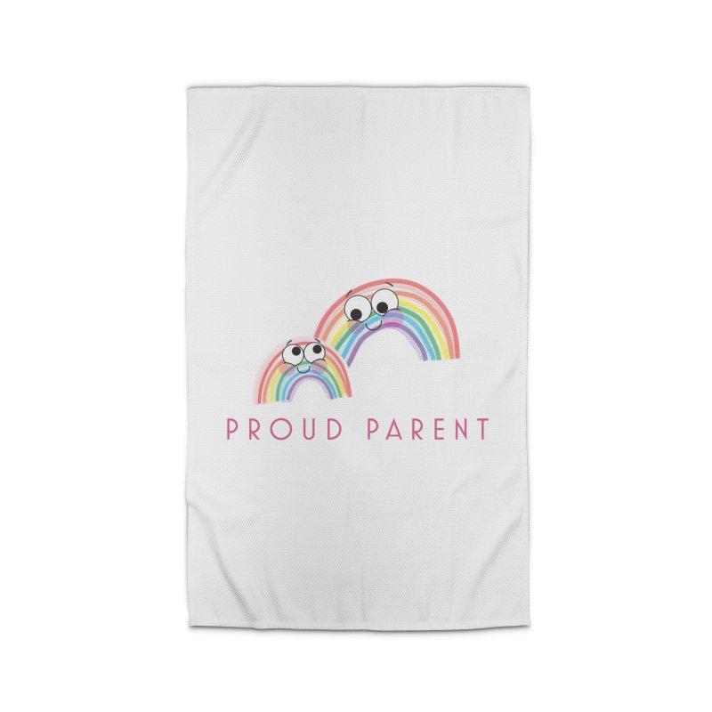 Proud Parent Home Rug by LLUMA Creative Design